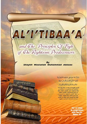 Download al itibaa and the principles of fiqh of the righteous predecessors pdf book by author dr wasi ullah muhammad abbas