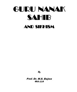 Guru nanak sahib and sikhism download pdf book writer dr m s bajwa