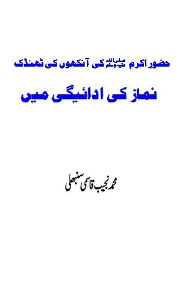 Huzoor ki ankho ki thandak download pdf book writer muhammad najeeb sanbhli qasmi