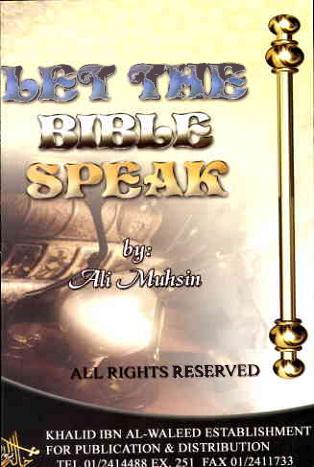 Let the bible speak download pdf book writer ali mohsin