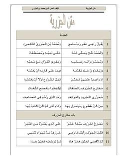 Download muqaddamatul jazriyyah pdf book by author allama shams ud deen muhammad al jazayri