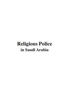 Religious police in sadi arabia download pdf book