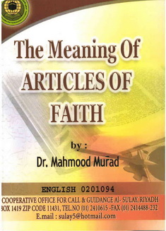 The articles of faith download pdf book writer mahmood murad