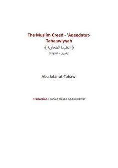 The muslim creed aqeedatut tahaawiyyah download pdf book writer abu jafar at tahawi