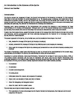 Ulum al quran download pdf book