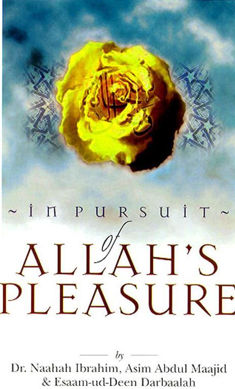 In pursuit of allahs pleasure download pdf book